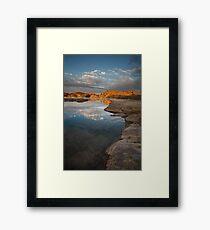 Sun Cut Framed Print