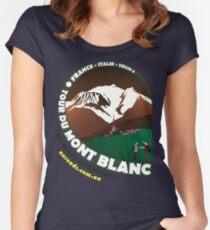 Tour du Mont Blanc Women's Fitted Scoop T-Shirt