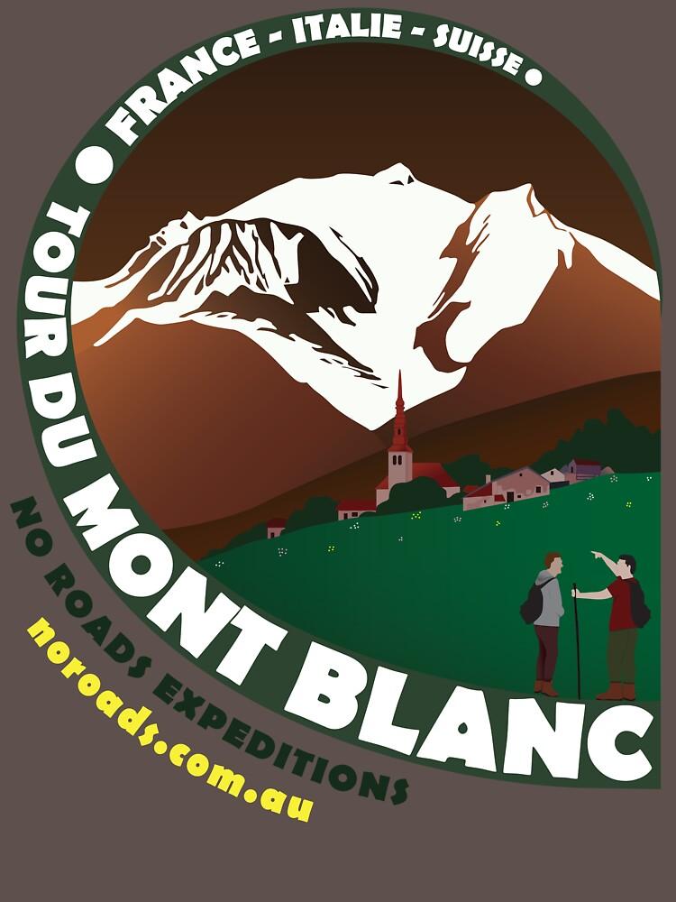 Tour du Mont Blanc | Unisex T-Shirt