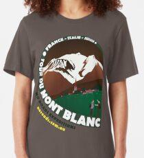 Tour du Mont Blanc Slim Fit T-Shirt