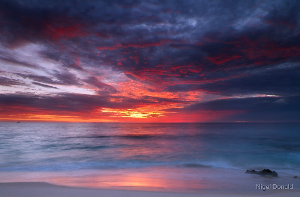 Cottesloe Sunset by Nigel Donald