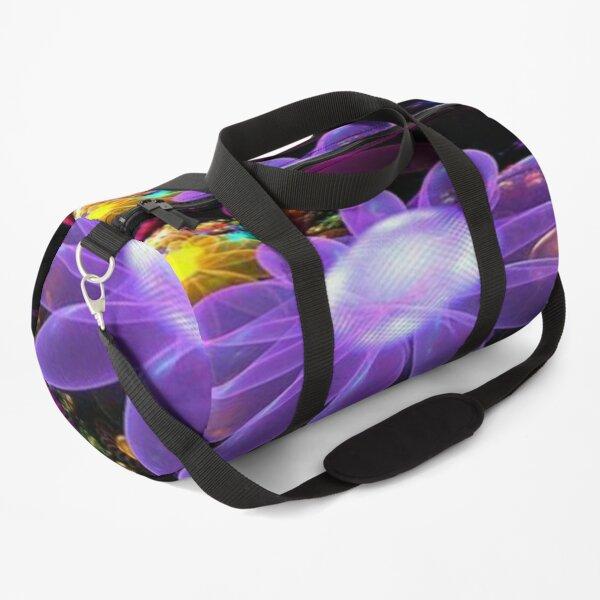 Bright daisy flower  Duffle Bag