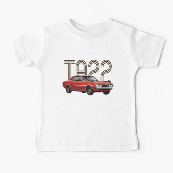 TA22 JDM Classic - Red Baby T-Shirt
