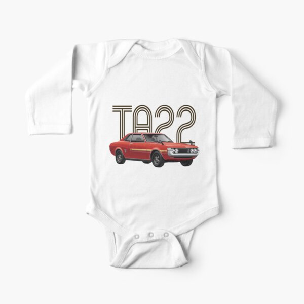 TA22 JDM Classic - Red Long Sleeve Baby One-Piece