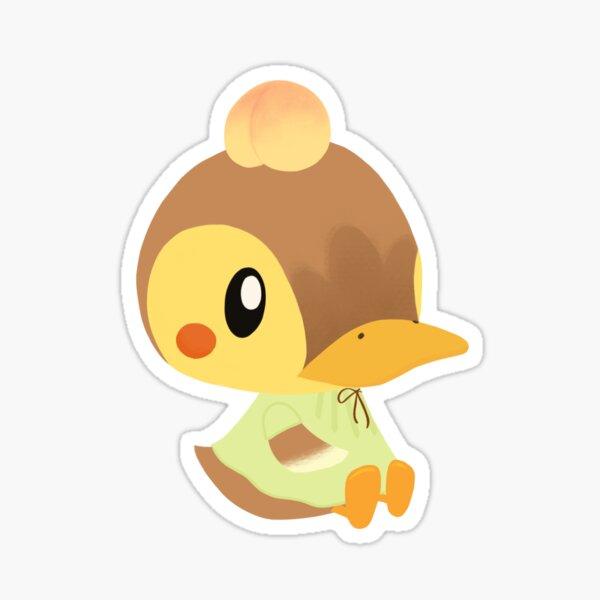 Molly with a Peach Sticker