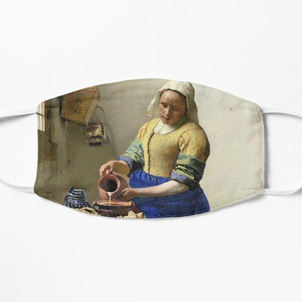 Het melkmeisje, Johannes Vermeer, ca. 1660 Mask