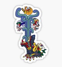 Xolotl (Colour) Sticker