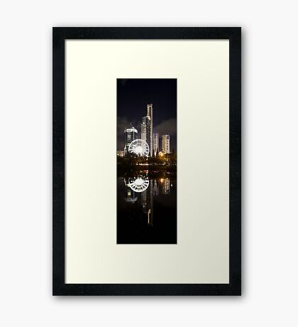 Two Sides To Every Story Framed Print