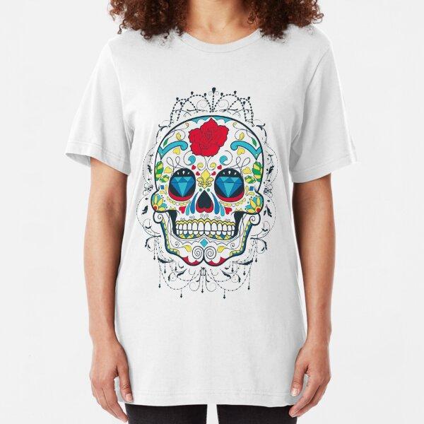 Mexican Skull Slim Fit T-Shirt