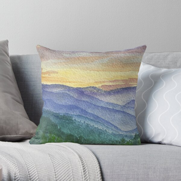 Pigeon Forge Throw Pillow