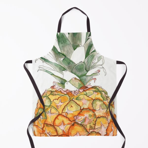 Pineapple Tropical Summer Fruit Apron