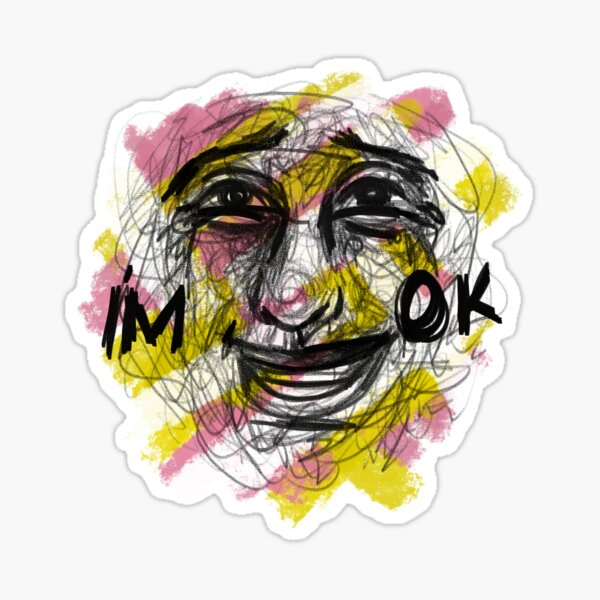 Syndrome I'm Ok Sticker