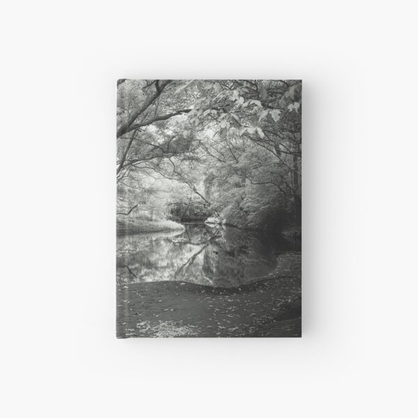 Reflecting infrared Hardcover Journal