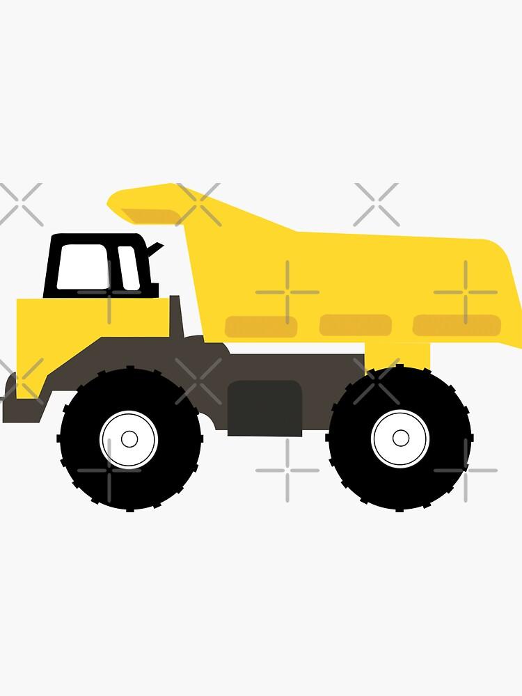 Dump Truck Construction Trucks by idovedesign