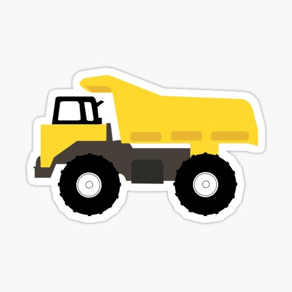 Dump Truck Construction Trucks Sticker