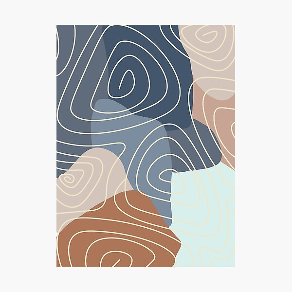 Abstract Series V1 Photographic Print