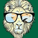 Sup ? Lion Sunglasses by jpvalery