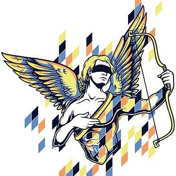 Greek Mythology & Gods - Cupid by jpvalery
