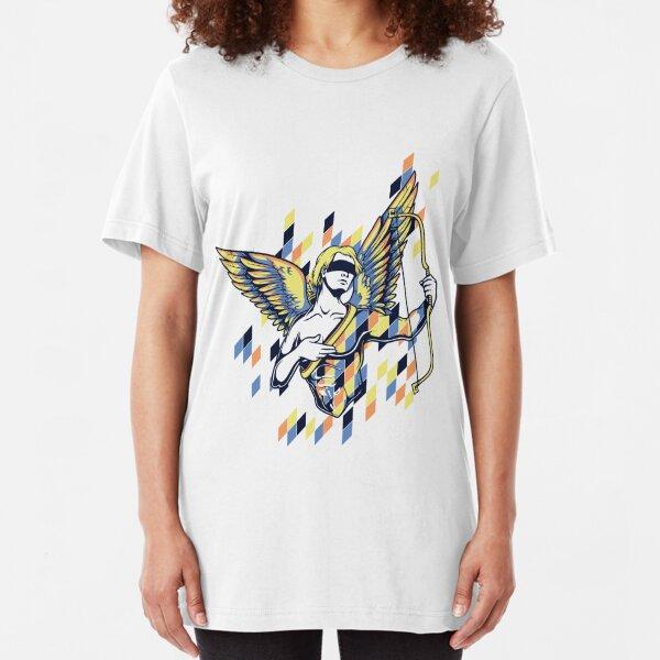 Greek Mythology & Gods - Cupid Slim Fit T-Shirt
