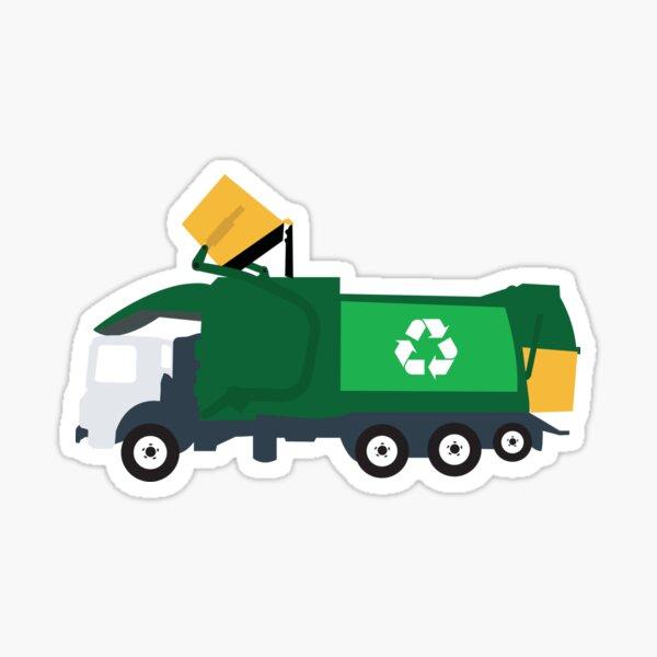 Recycling Garbage Truck Sticker