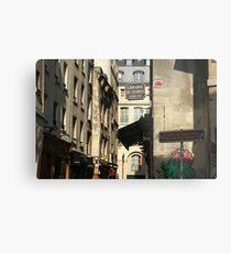 Rue des Rosiers Metal Print