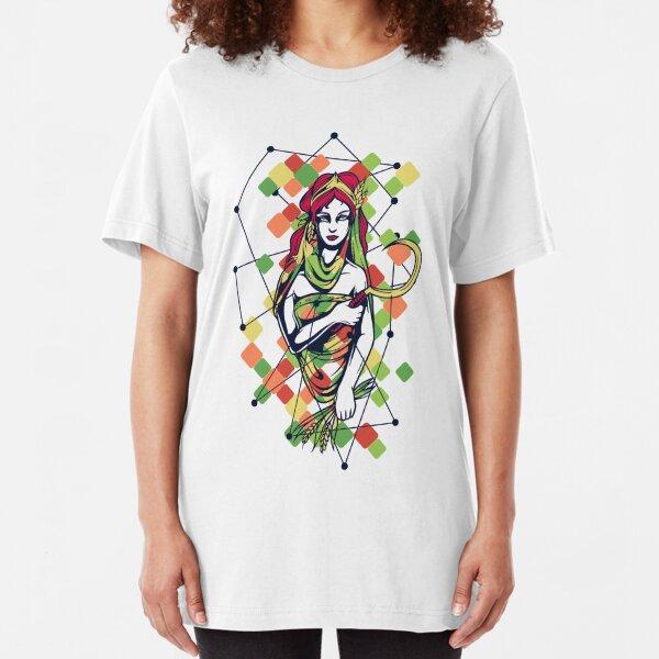 Greek Mythology & Gods - Hera Slim Fit T-Shirt