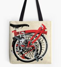 Brompton Bicycle Folded Tote Bag