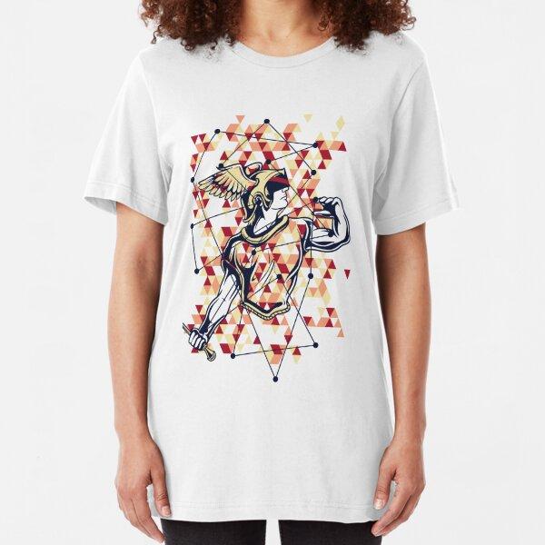 Greek Mythology & Gods - Hermes Slim Fit T-Shirt