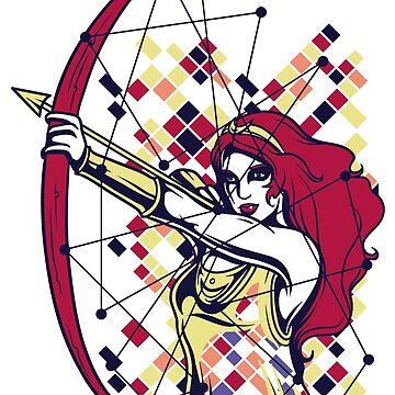 Mitología griega y dioses - Artemisa de jpvalery