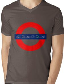 London Underground - MAP! Mens V-Neck T-Shirt