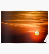 Sun, Sky, Clouds Poster