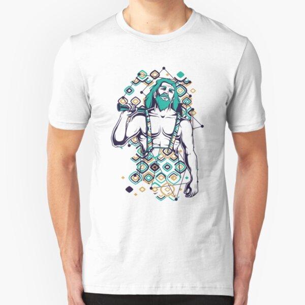 Greek Mythology & Gods - Hephaistos Slim Fit T-Shirt