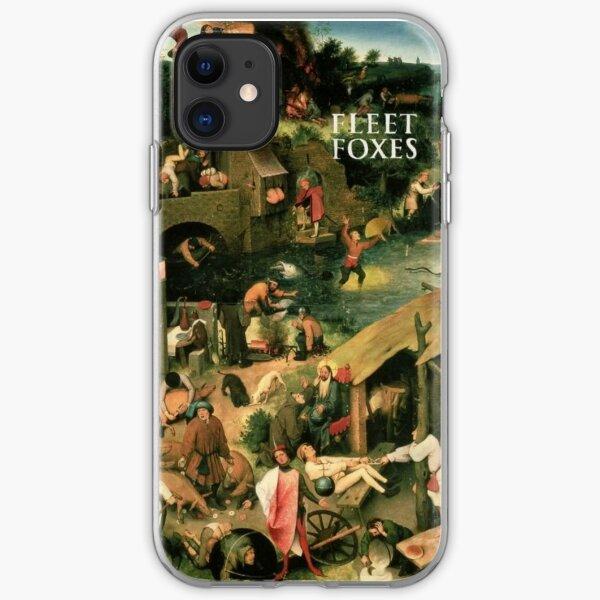 Fleet foxes first iPhone Soft Case