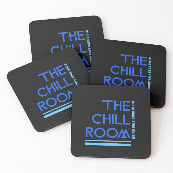 The Chill Room Coasters (Set of 4)