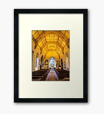 St Mary's Church Kintbury Framed Print