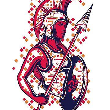 Greek Mythology & Gods - War by jpvalery