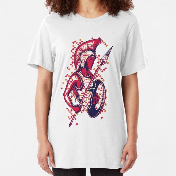 Greek Mythology & Gods - War Slim Fit T-Shirt