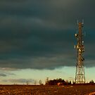 Stormy Day at Combe by mlphoto