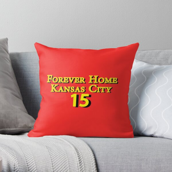 Patrick Mahomes 15 Throw Pillow