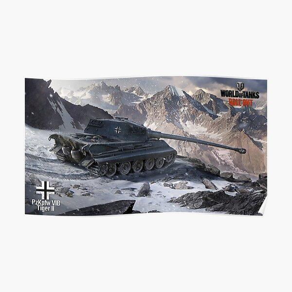 Pzfpfw VIB Tiger II Poster
