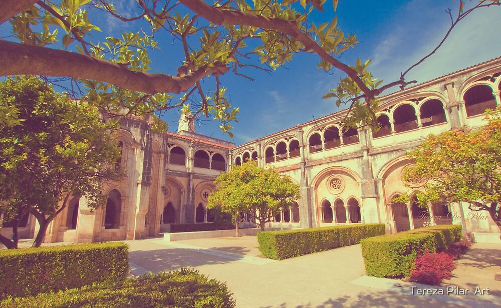alcobaça monastery cloister. by terezadelpilar ~ art & architecture