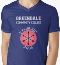 Greendale - E Pluribus Anus Men's V-Neck T-Shirt