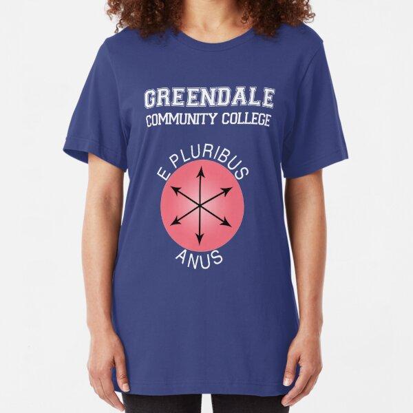 Greendale - E Pluribus Anus Slim Fit T-Shirt