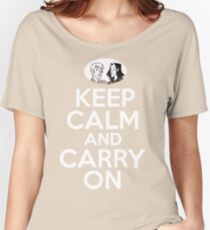 Keep Calm and Carry On, Simon Snow Women's Relaxed Fit T-Shirt