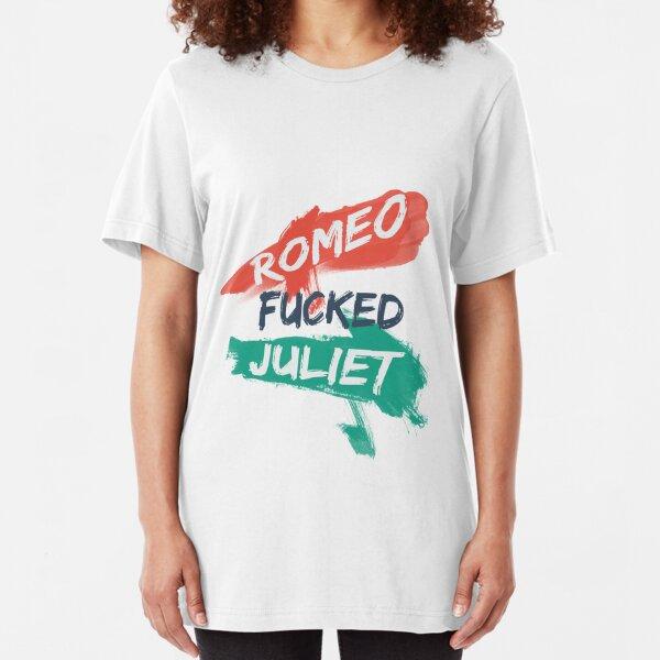 Romeo F***ed Juliet Slim Fit T-Shirt