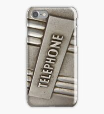 TELEPHONE. iPhone Case/Skin