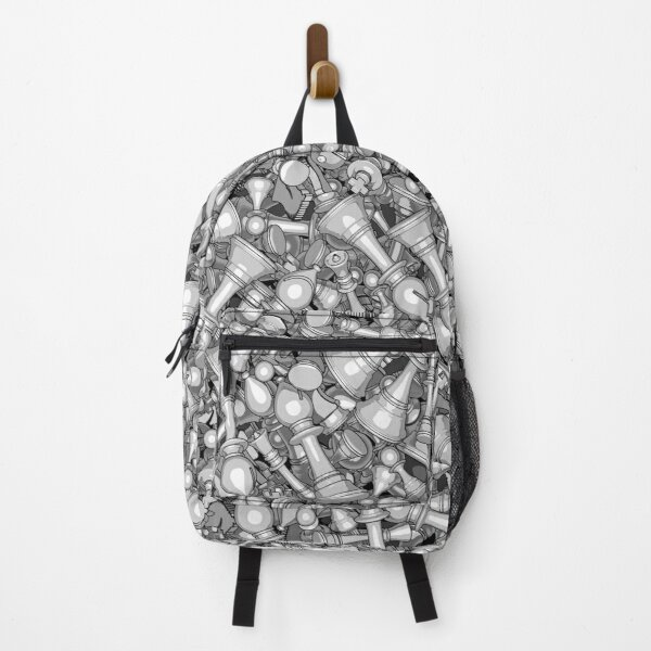 Blitz Chess B&W Backpack