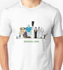 Monsters, Inked: Family Portrait Slim Fit T-Shirt