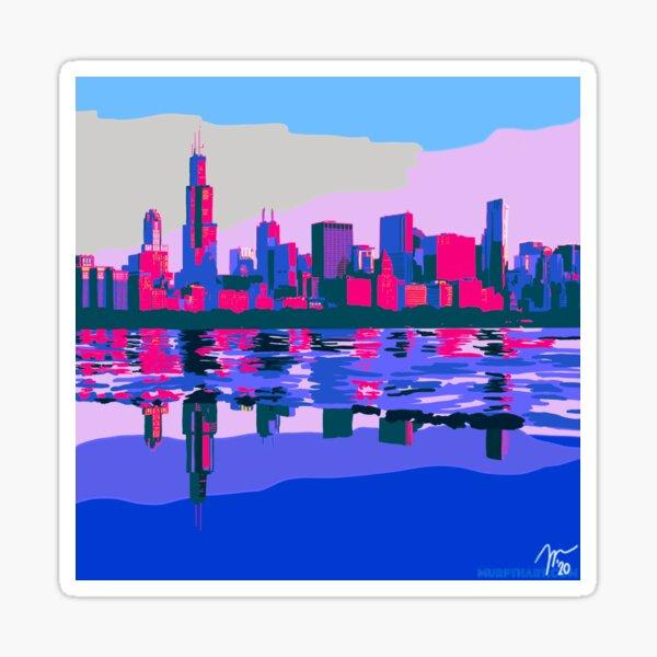 Full Chicago Skyline Sticker