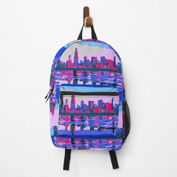 Full Chicago Skyline Backpack